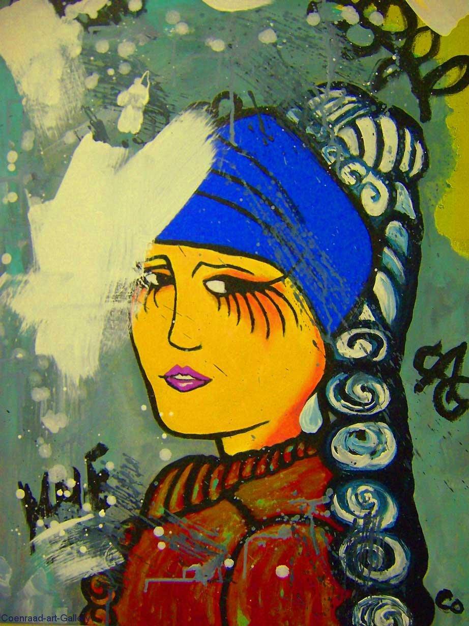 VermeerGraffiti