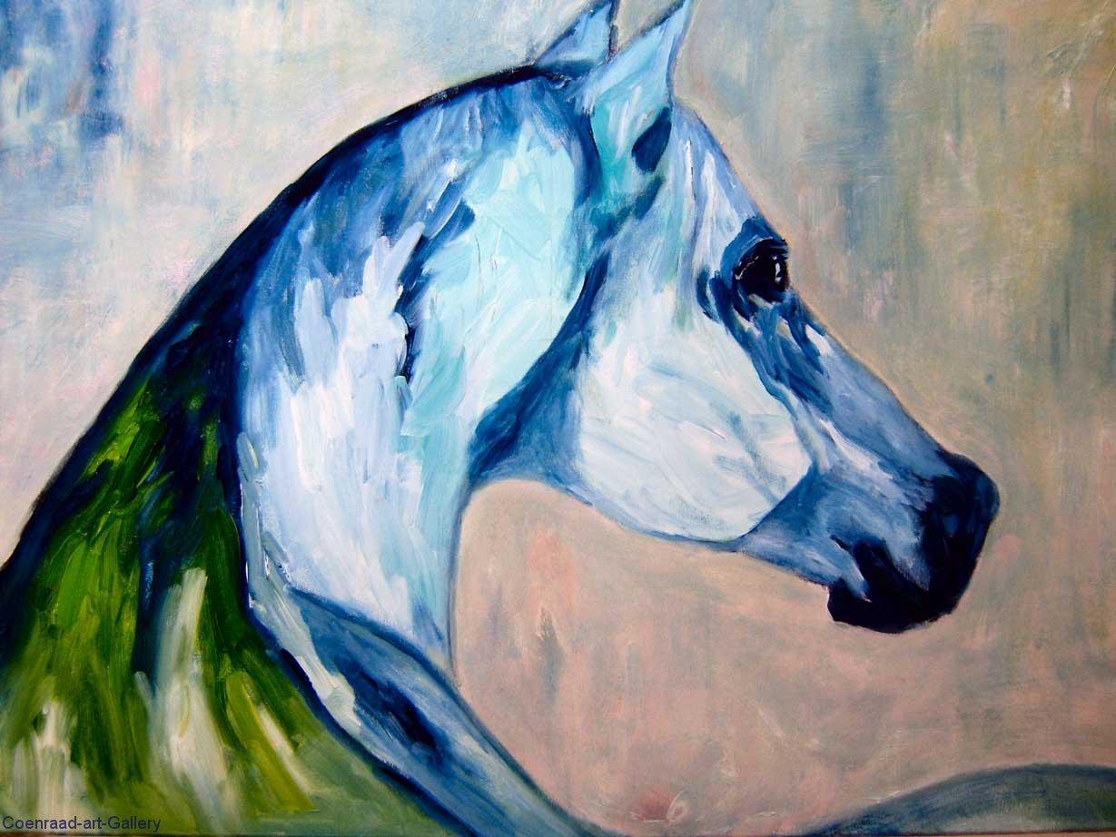 A-Blue-Horse