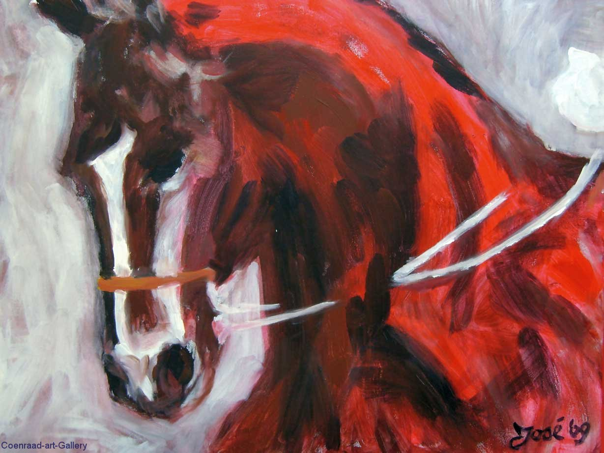 A-Red-Horse